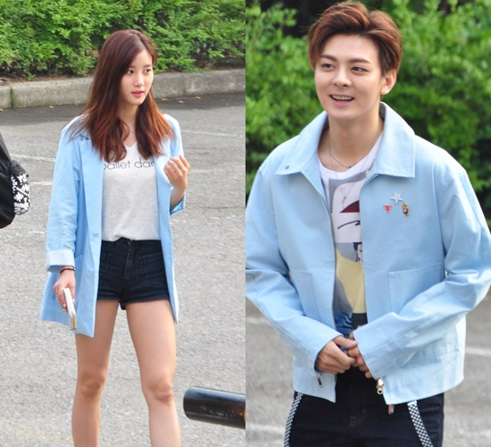 Music Bank Blast K Pop Idols Couple Looks From June 17th Kpopmap