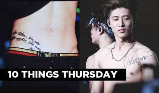 10 Things: Deep Meanings Behind K-Pop Idols' Tattoos
