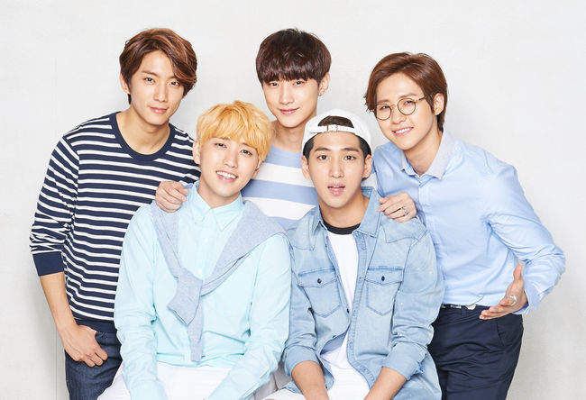 Image result for b1a4 group photo 2016