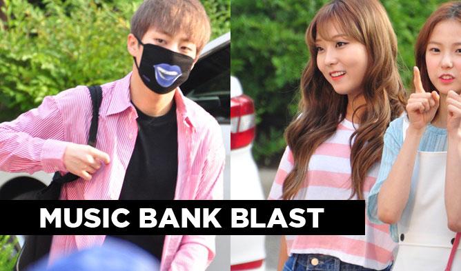 kpopmap music bank, music bank, music bank 061016, music bank idols, music bank couple looks, kpop couple looks, kpop idols twins, kpop idols twins look, exo xiumin 2016, music bank exo, baek ahyeon, heyne, roadboyz, clc, music bank clc, exid, exid music bank, lovelyz