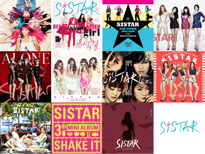 Debut to Now: SISTAR (2016 Comeback)