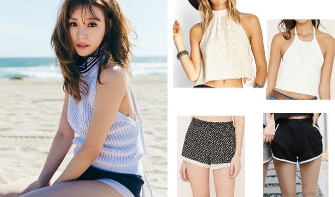 FAB FASHION FRIDAY: SNSD Tiffany's IJWD Summer Fashion