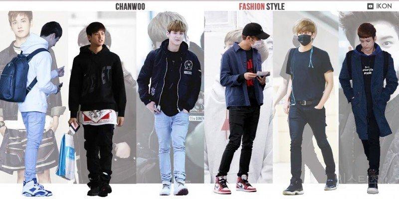 ikon, ikon fashion, ikon outfits, ikon fashion style, ikon fashion sense, ikon members, chanwoo fashion