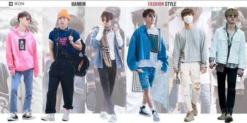 ikon, ikon fashion, ikon outfits, ikon fashion style, ikon fashion sense, ikon members, ikon bi fashion