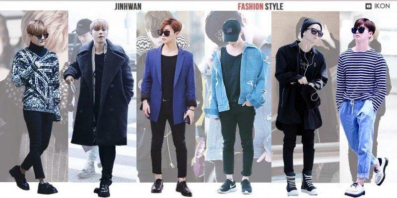 ikon, ikon fashion, ikon outfits, ikon fashion style, ikon fashion sense, ikon members, jinhwan fashion