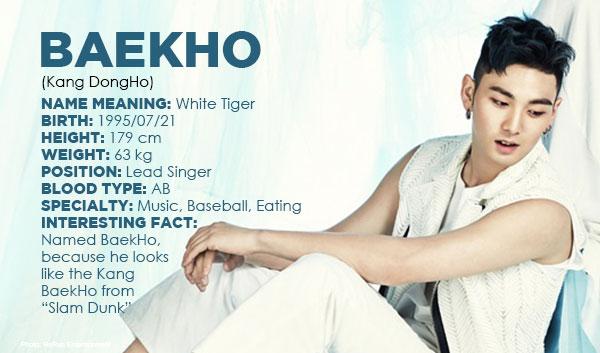 PEOPLE: Photostory of NU'EST's BaekHo