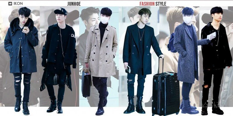 ikon, ikon fashion, ikon outfits, ikon fashion style, ikon fashion sense, ikon members, junhoe fashion