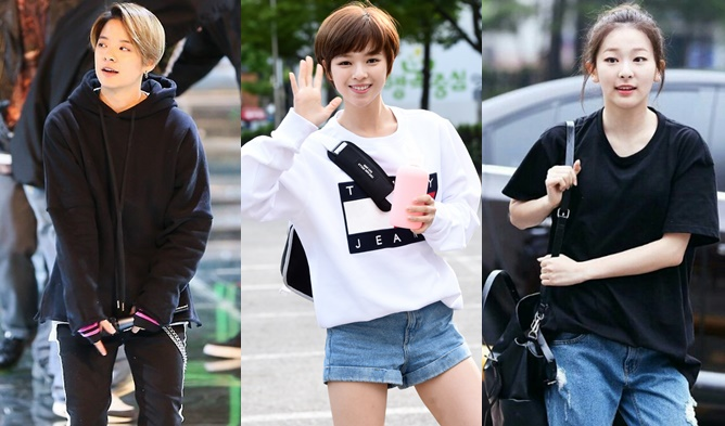 boyish fashion, kpop boyish fashion, kpop idol boyish fashion, kpop girl group boyish, fx amber fashion