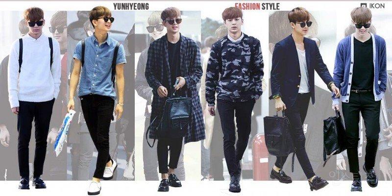 ikon, ikon fashion, ikon outfits, ikon fashion style, ikon fashion sense, ikon members, yunhyeong fashion