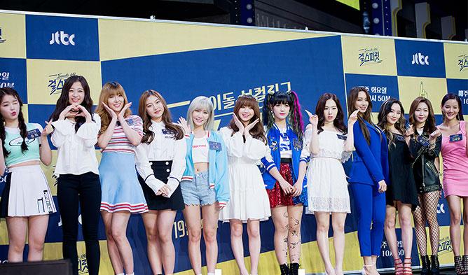 girl spirit, girl spirit jtbc, jtbc girl spirit, kpop girl spirit