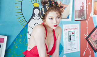 hyuna, hyuna awesome, hyuna photoshoot 2016, hyuna photoshoot, hyuna 2016, hyuna awesome bts, hyuna awesome behind cut, hyuna awesome 2016, hyuna awesome album