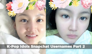 K-Pop Idols On Snapchat 2016: Usernames To Follow (Part 2)