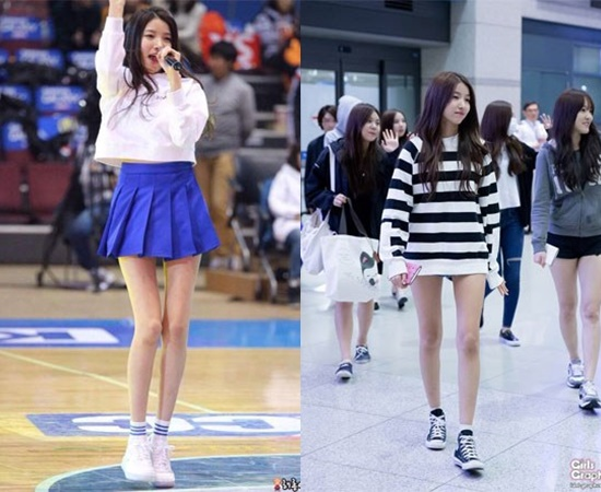13 K Pop Girl Idols Skinny Legs With Absolutely No Fat Kpopmap Kpop Kdrama And Trend Stories Coverage