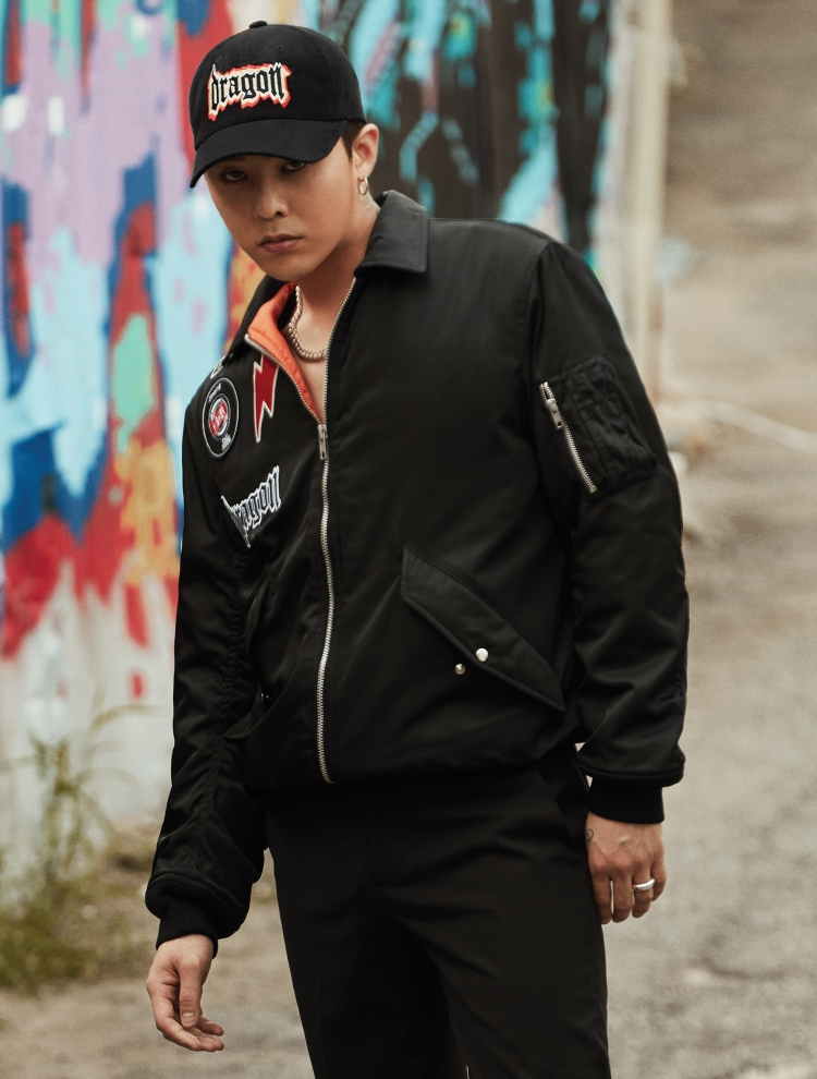 Photo )) 8 Seconds x G-Dragon Fashion Line Collaboration • Kpopmap ...