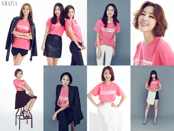 Girl's Day Look Stunning for Grazia's Charity Photoshoot