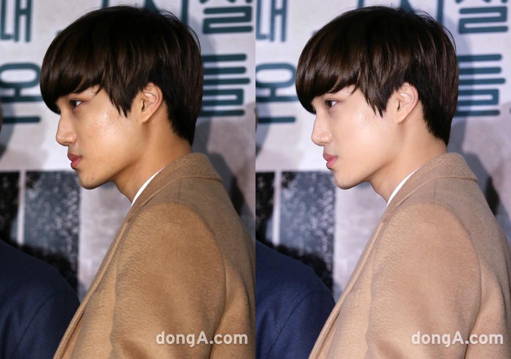 idol photo shop, idol before after, boy group photo shop, exo photo shop, vixx photo shop