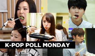 kpop poll, meokbang, kpop meokbang, meokbang idols, meokbang hani, meokbang jin, meokbang seungkwan, meokbang bomi, meokbang seulgi