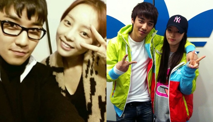 kpop best friends, kpop idol best friends, kpop idol friendships, kpop idol friends, seungri hara