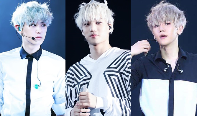 17 K Pop Male Idols Who Slay The Quick Silver Hair Kpopmap