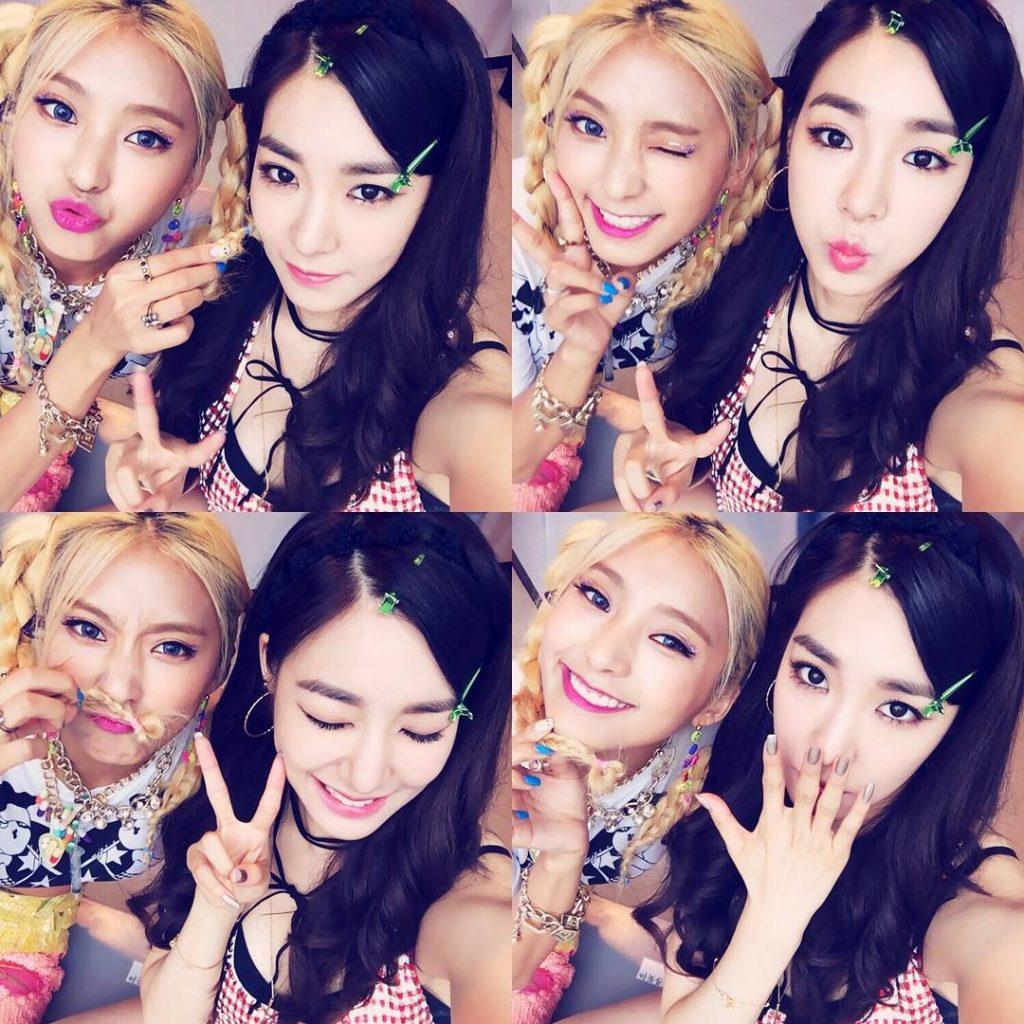 kpop best friends, kpop idol best friends, kpop idol friendships, kpop idol friends, tiffany bora