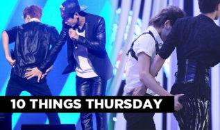 kpop idol butts, kpop butts, kpop idols, kpop 10 things, kpop sexy butt