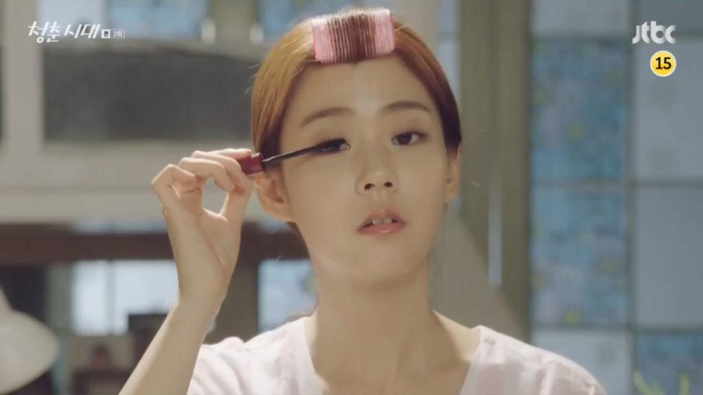 jtbc age of youth, korean makeup, bare face makeup, korean bare face makeup, korean makeup tutorial, korean makeup tip, age of youth makeup, han seungyeon makeup