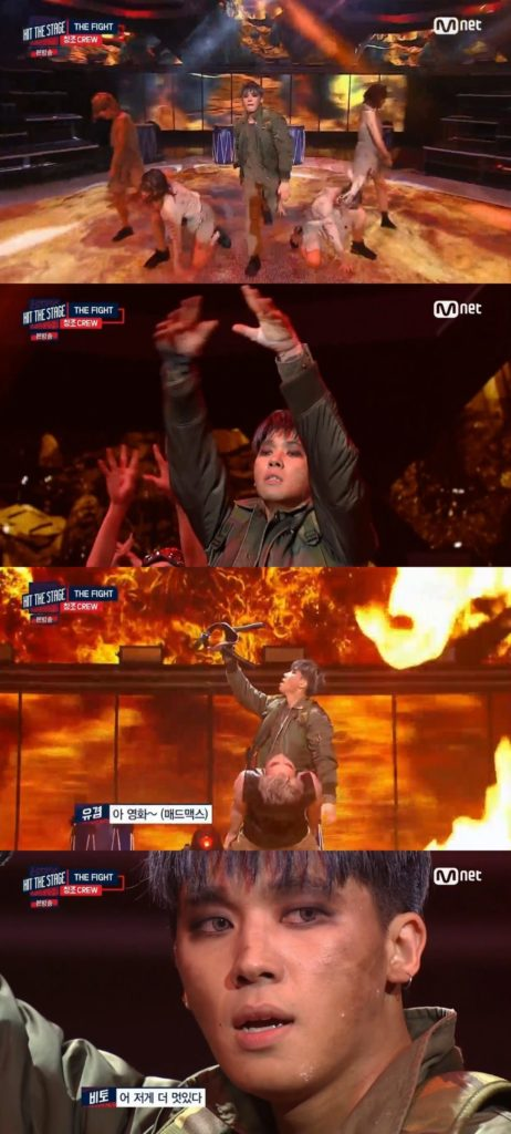 """TEEN TOP's ChangJo Channels """"Mad Max"""" on Mnet's Hit the Stage"""
