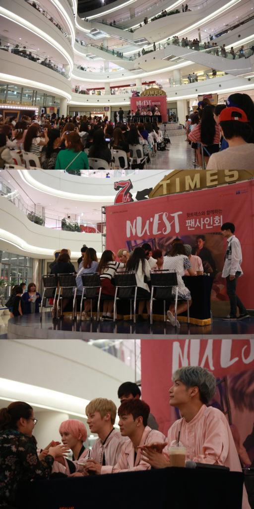 """NU'EST Holds an Extra Special Fan Signing for """"CANVAS"""""""