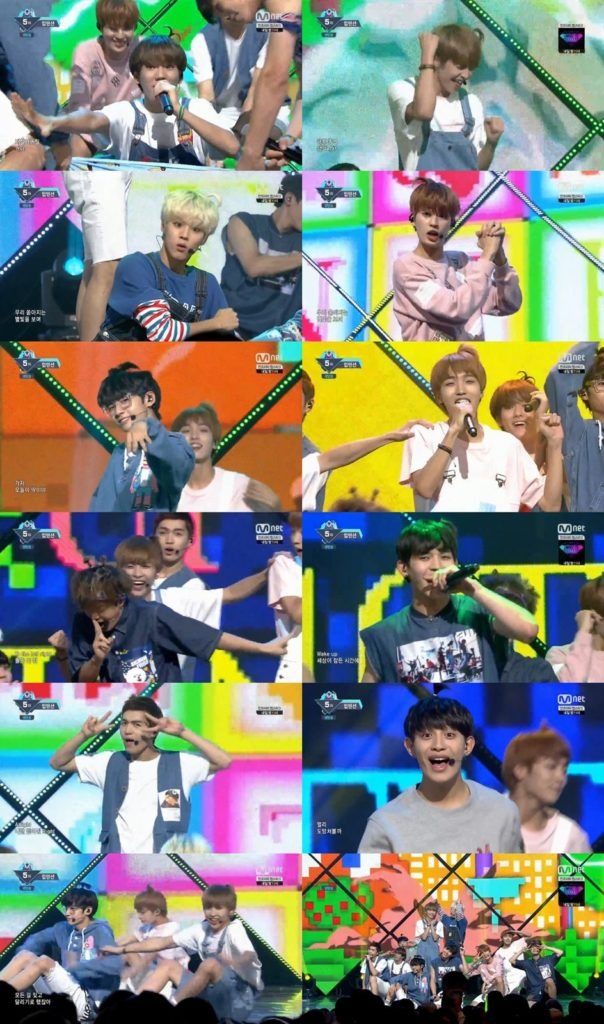 """UP10TION Says Goodbye on """"MCountdown"""" with 10 Xiaos"""