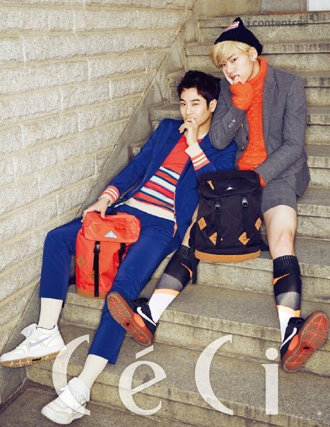 12 K-Pop Male Idols Looking Fab in Knee High Socks