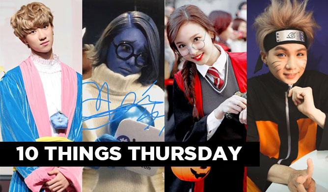 kpop halloween, kpop halloween costume, kpop idols halloween,