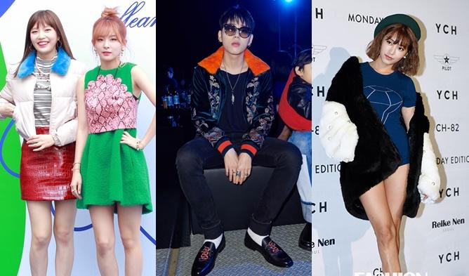 seoul fashion week 2016, seoul fashion week 2017, seoul fashion week ss 2017, seoul fashion week ss 17, seoul fashion week kpop idols, kpop idols seoul fashion week, kpop fashion