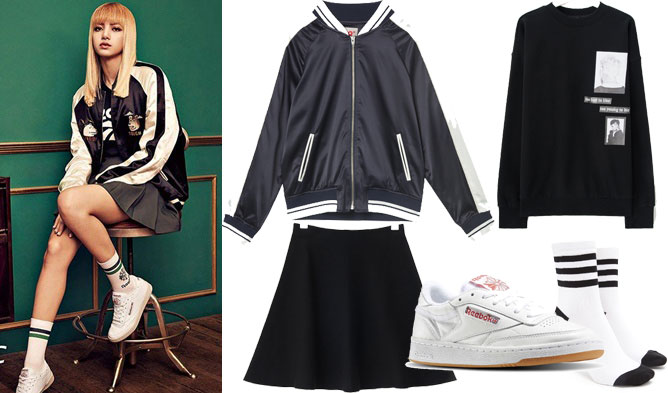 Fab Fashion Friday Blackpink Style With Reebok S Club C Sneakers