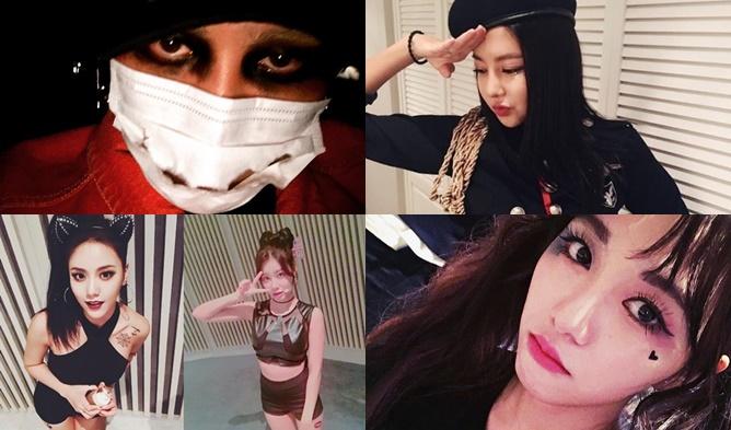 kpop halloween, kpop halloween 2016, kpop halloween idols,