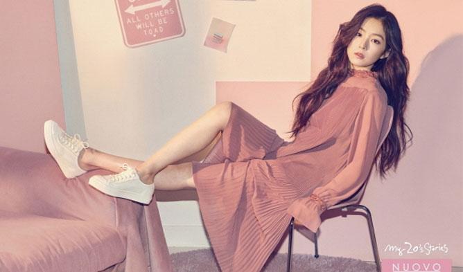 Irene, red velvet, nuovo, endorsement, kpop, korean, fashion, red velvet