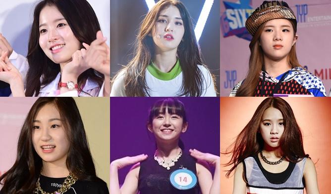 jyp sixteen, sixteen season 2, jyp trainees, jyp girl trainee, jyp twice, sixteen twice, sixteen 2017, jyp 2017, yun jin, jia yu, yuna, somi, natty, lilym, eunseo, eunsoo, ryujin, sunmin, chaeryeong, chaeyeon, yeji, hanseol, sukyung, mashiro