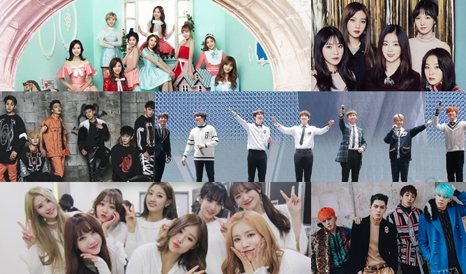 Upcoming K Pop Comeback Debut Lineup For February 2017 Kpopmap Kpop Kdrama And Trend Stories Coverage