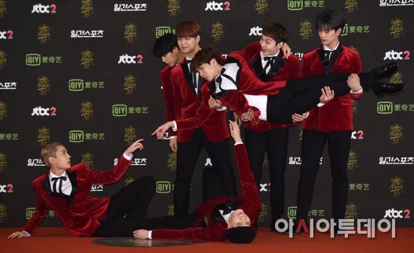 BTOB's History of Being a Photogenic