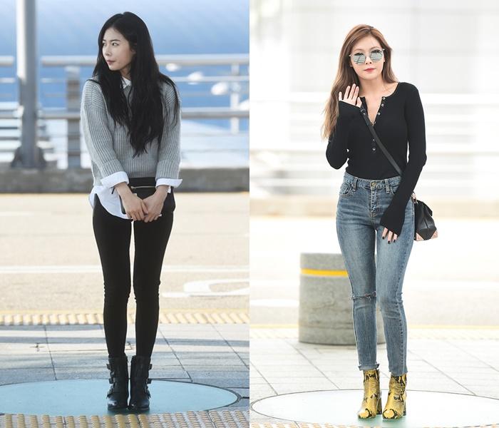 Idol Airport Fashion 101:  HyunA