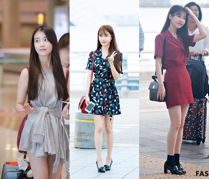 Idol Airport Fashion 101: IU