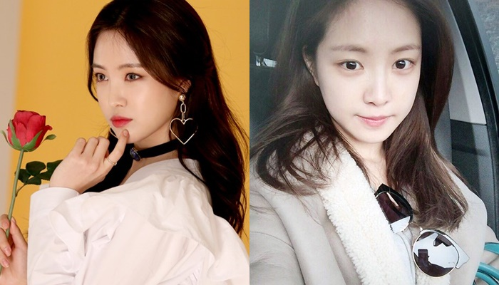 kpop idols no makeup, kpop idols bare faced, kpop idols without makeup, son naeun without makeup, son naeun barefaced
