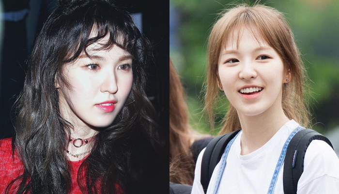 kpop idols no makeup, kpop idols bare faced, kpop idols without makeup, red velvet wendy bare faced, red velvet wendy without makeup
