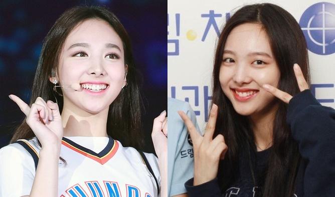 kpop idols no makeup, kpop idols bare faced, kpop idols without makeup, nayeon without makeup, nayeon barefaced
