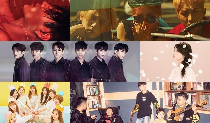 kpop comeback, kpop 2017, kpop 2017 comeback, kpop may comeback,
