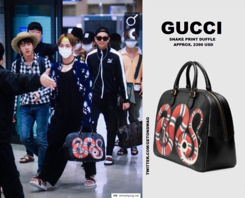 Guess What V of BTS Likes the Most in His Closet? GUCCI