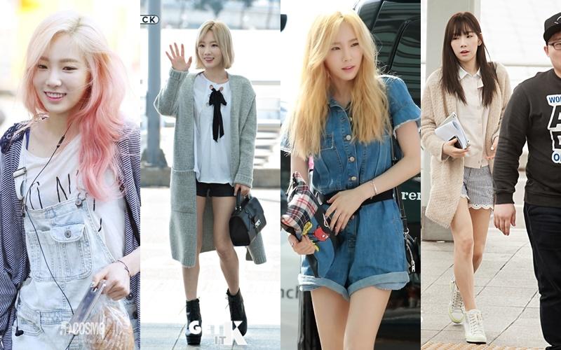 Airport Fashion 101 : TaeYeon of SNSD