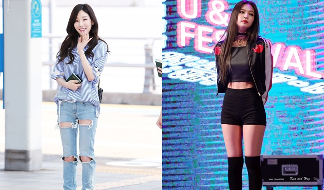 Which Body Type Do You Prefer Stick Thin Or With Curves Girl Idols By Body Type Kpopmap Kpop Kdrama And Trend Stories Coverage
