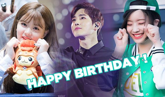 kpop birthdays, kpop idols birthdays, kpop may birthdays, kpop idols born in may, dahyun 2017