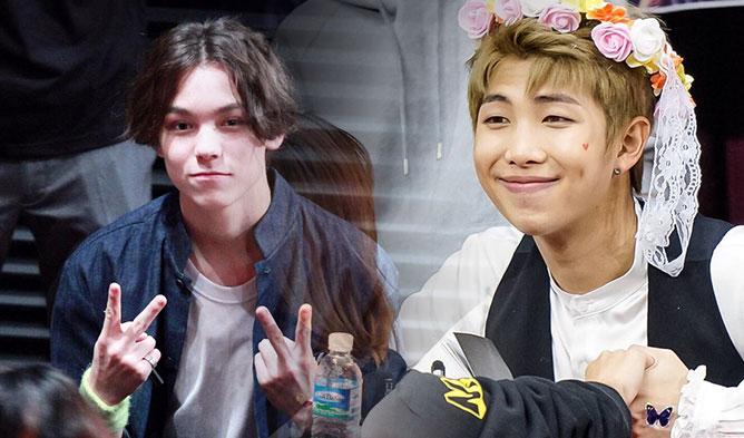 kpop fan meeting, kpop romantic fan service, kpop fan service, vernon rap monster