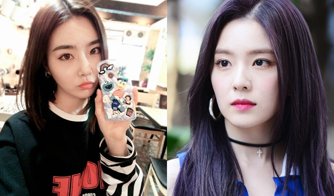 kpop sisters, kpop look a like, kpop similar faces, kpop idols who look alike, irene yuna